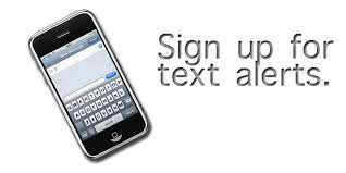 Sign up for debit card text alerts